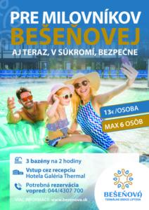 Apartmán AQUAPARK - Hotel Bešeňová