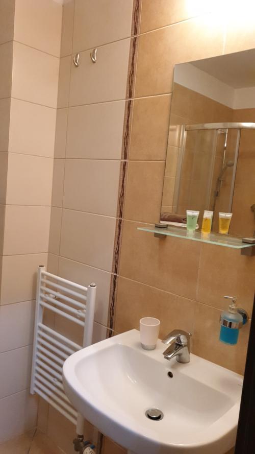 Apartmán AQUAPARK - Hotel Bešeňová - koupelna