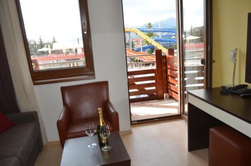 Apartmán AQUAPARK - Hotel Bešeňová - ubytování - výhled