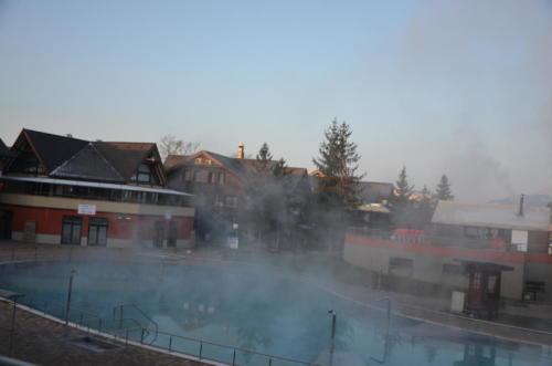 Apartmán AQUAPARK - Hotel Bešeňová - ranní pohled