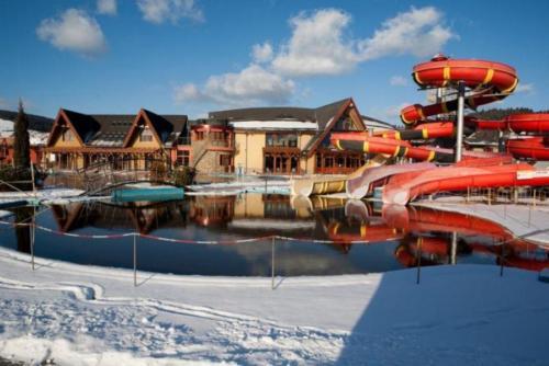 Zima - Aquapark Bešeňová - termální lázně