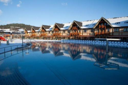 Zima - Aquapark Bešeňová termální lázně